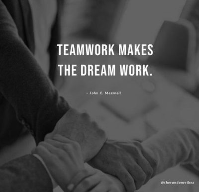 Quotes About Working Together Team
