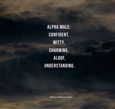 Quotes For Alpha Males