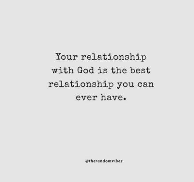 Relationship With God Quotes