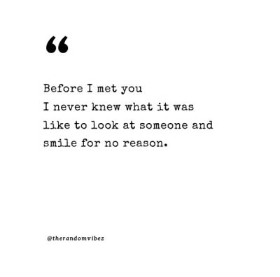 Romantic I Look At You Quotes