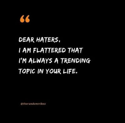 Savage Quotes For Haters