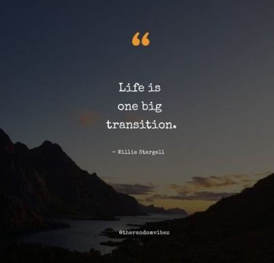 Short Transition Quotes