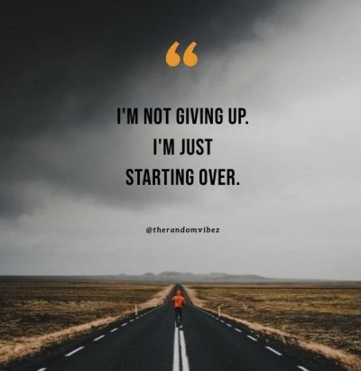 Starting Over Quotes