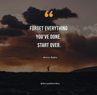 Starting Over Quotes Images