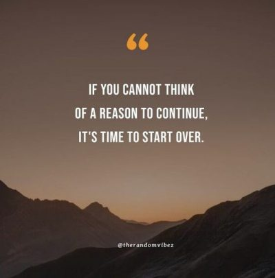 Starting Over Quotes Relationships