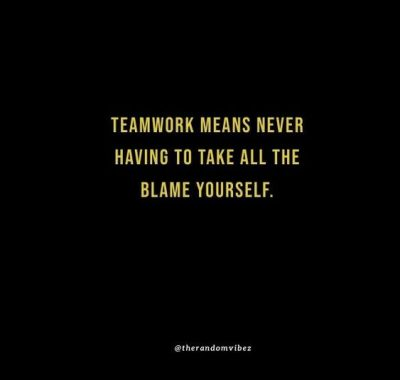 Teamwork Funny Quotes