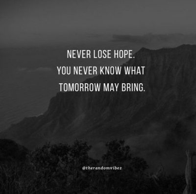 You Will Never Know Quotes