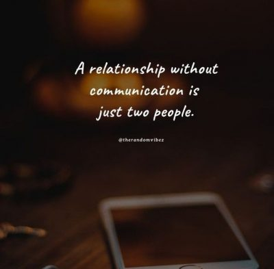 communication quotes for relationships