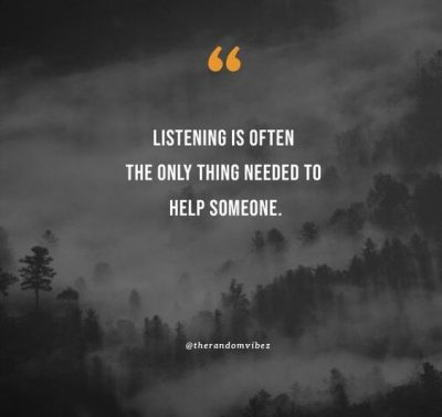 effective listening quotes