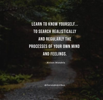 famous quotes about knowing yourself