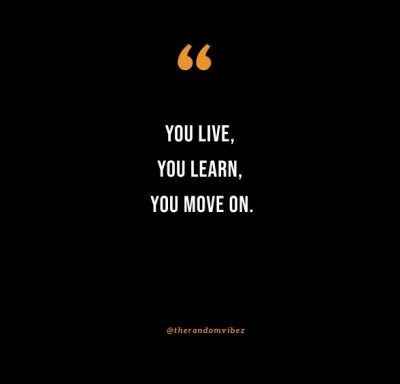 inspirational quotes you live and you learn