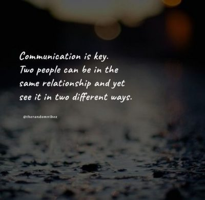 lack of communication quotes relationships