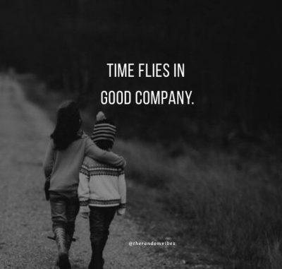 quotes about being in good company