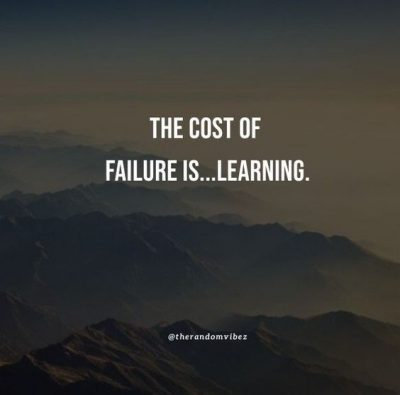 quotes about failure and learning