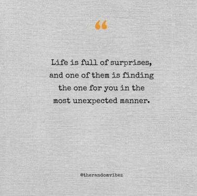 quotes about finding love unexpectedly