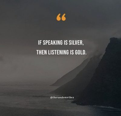 quotes about listening to others