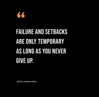 temporary setback quotes