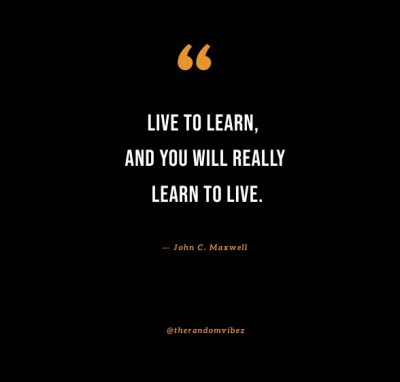 you live and learn quotes