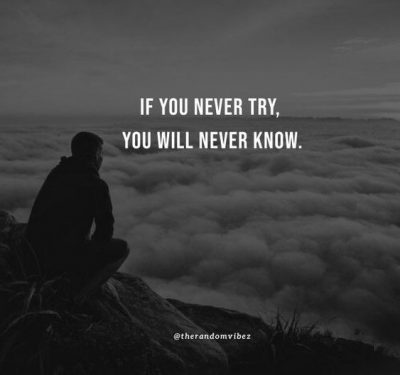 you never know quotes
