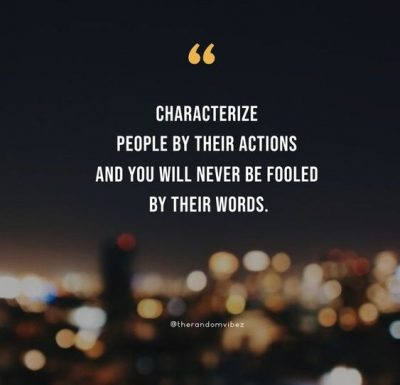 Actions Speak Louder Than Words Quotes Pictures