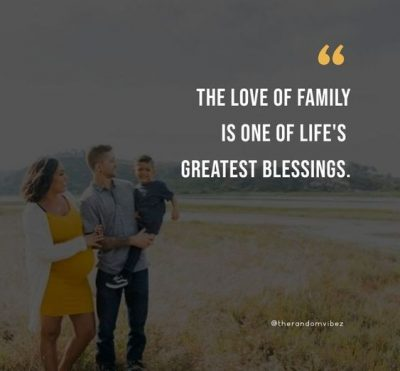 Blessed Family Quotes Images