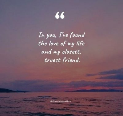 Cute Love Of My Life Quotes