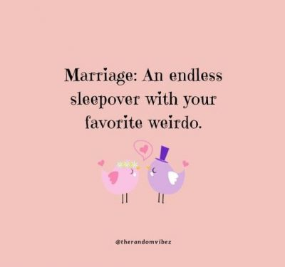 Funny Words of Wisdom For Newly Weds