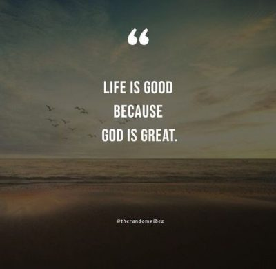 God Is Great Quotes
