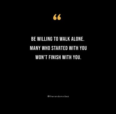 I can stand alone quotes