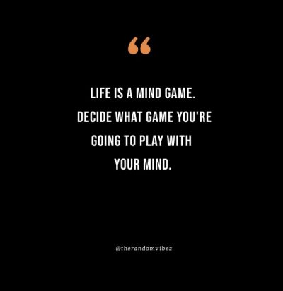 Mind Game Quotes Images