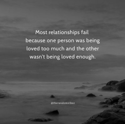 Quotes About Relationship Failure