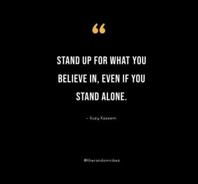Stand Alone Quotes Images