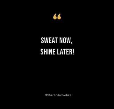 Sweat Quotes Motivational Gym