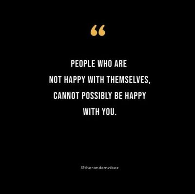 Unhappy Miserable People Quotes