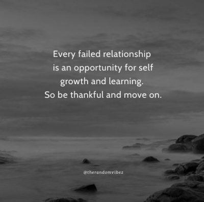failed relationship moved on quote
