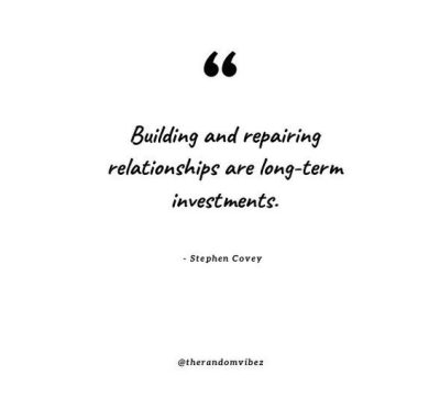 Building Relationships Quotes