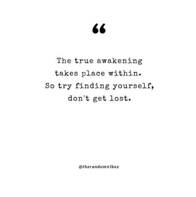 Don't Lose Yourself Quotes