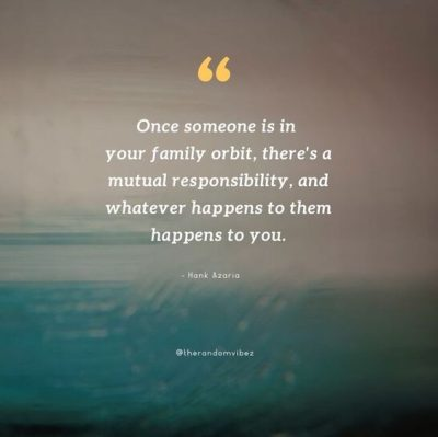 Family Duty Quotes