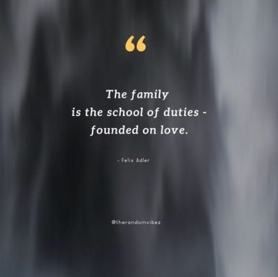Family Responsibility Quotes