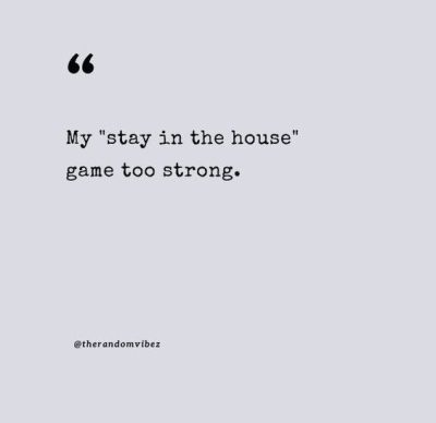 Funny Homebody Quotes