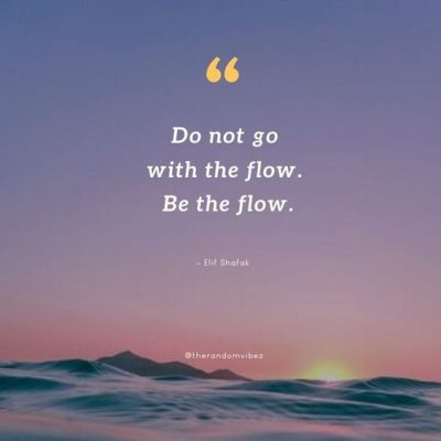 Go With The Flow Quotes