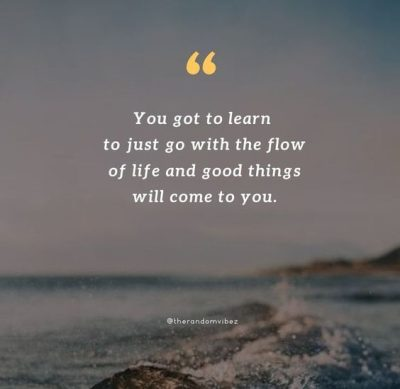 Move With The Flow Quotes