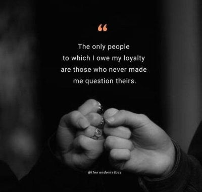 Quotes About Loyal Friend