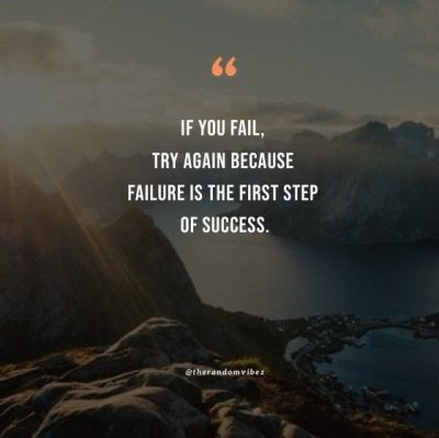 Try Again Motivational Quotes