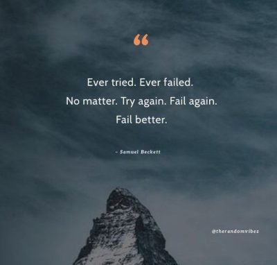 Try Again Quotes Images