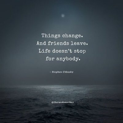 quotes about someone changing
